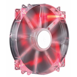 CoolerMaster Fan R4-LUS-07AR-GP 200mm Mega Flow LED Red 700RPM
