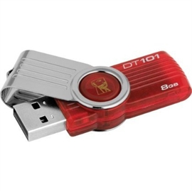 Kingston Flash Memory DT101G2/8GBZ 8GB Retail
