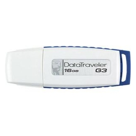 Kingston Flash Memory DTIG3/16GBZ DataTraveler G3 16GB USB2 RTL
