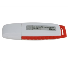 Kingston DTIG3/32GBZ 32GB White/Red USB2.0 DataTraveler Gen3 RTL