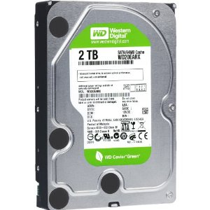 Western Digital 2TB SATA 6Gb s Desktop 5400 rpm 64MB Cache Bare
