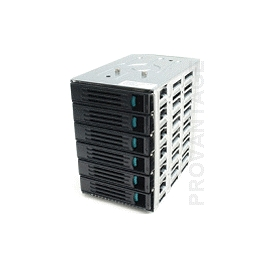 Intel AXX6DRV3GR NON-EXPANDED 6-HDD HS CAGE FOR SC5600/SC5650