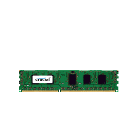 Crucial 4GB Memory CT51272BB1339 240-pin DIMM DDR3 PC3-10600 ECC