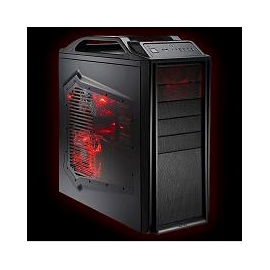 CoolerMaster Mid Tower SGC-2000-KKN1-GP Black 5/5/1 Bays w/120mm
