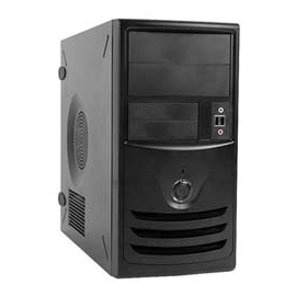 In-Win Z589T.CQ350TBL mATX Mini-Tower 350W V2.31 2/2/(1) Audio