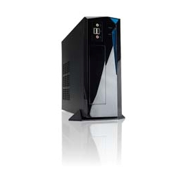 In-Win IW-BP655.200BL Mini-ITX Tower 200W 1/0/(2) Bay USB HD Aud