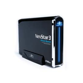 "Vantec NST-380S3-BK 3.5"" SATA to USB3.0 Up to 2TB HDD Ext. RTL"