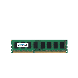 Crucial CT51264BA1339 Memory 4GB DDR3 1333 CL9 Retail