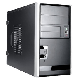 In-Win Case EM013.T350SL mATX Mini Tower 350W 2/2/(2)Bays USB