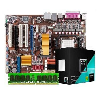 AMD Bundle #3 CPU, MOTHERBOARD, AND MEMORY