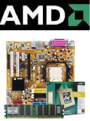 AMD MB, CPU, & Memory Bundles