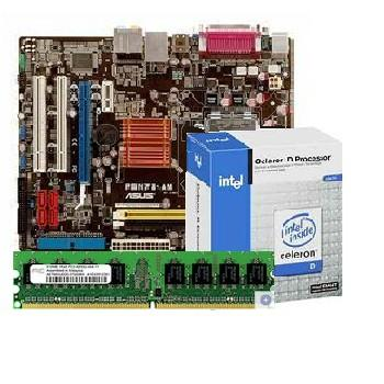 Intel Bundle #1 CPU, MOTHERBOARD, AND MEMORY